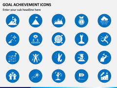 Goal Achievement Icons PPT Slide 2