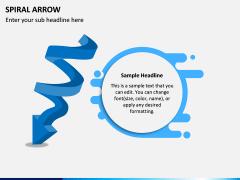 Spiral Arrow Infographics PPT Slide 6