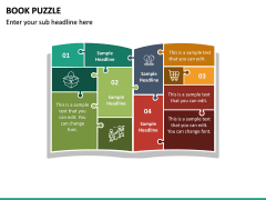 Book Puzzle PPT Slide 2