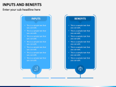 Inputs and Benefits PPT Slide 6