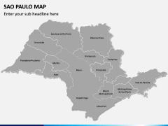 Sao Paulo Map PPT Slide 2