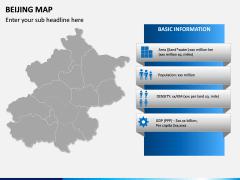 Beijing Map PPT Slide 3