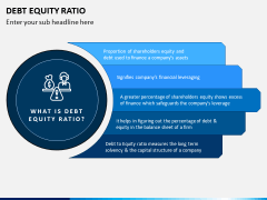 Debt Equity Ratio PPT Slide 1