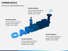 Career Goals PPT Slide 1