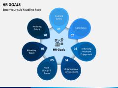 HR Goals PPT Slide 1