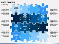 Puzzle Matrix PPT Slide 6