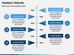 Triangle Timeline PPT Slide 5