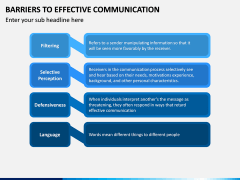 Barriers to Effective Communication PPT Slide 8