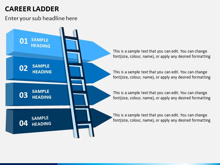 Career Ladder Powerpoint Template