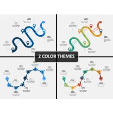 Snake Timeline PPT Cover Slide