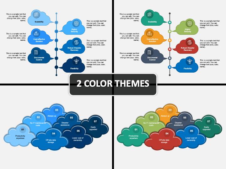 Cloud Benefits PPT Cover Slide