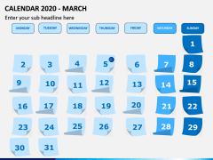 Calendar 2020 PPT Slide 3