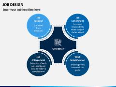 Job Design PPT Slide 1