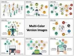 Virtual Team Multicolor Combined