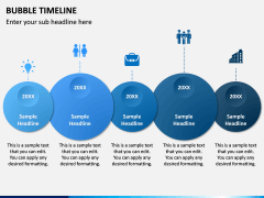 Bubble Timeline PPT Slide 4
