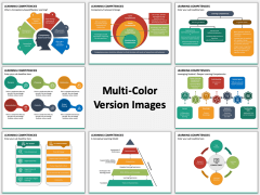 Learning Competencies Multicolor Combined