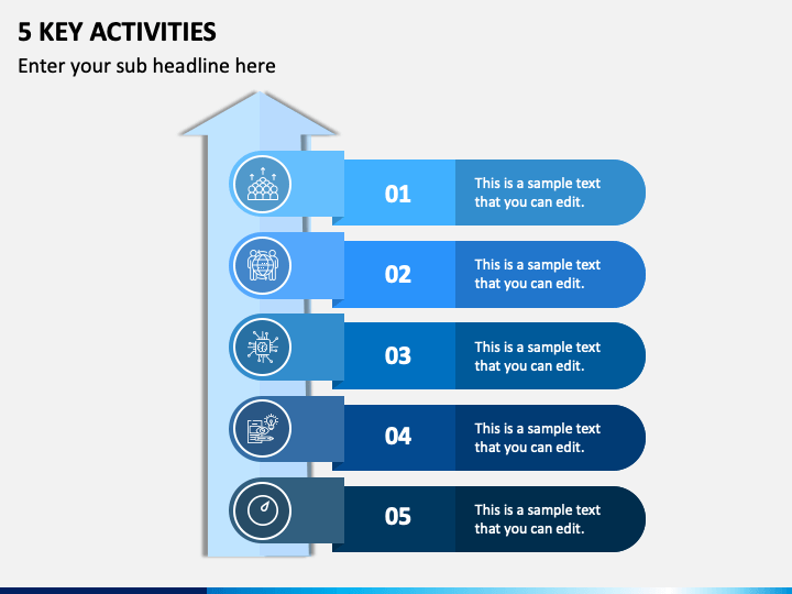 5 Key Activities PPT Slide 1