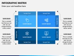 Infographic Matrix PPT Slide 12