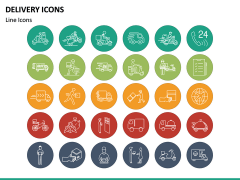 Delivery Icons PPT Slide 4