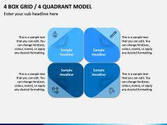 4 Box Grid PPT Slide 7