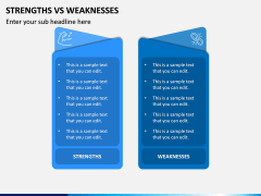 Strengths Vs Weaknesses PPT Slide 5