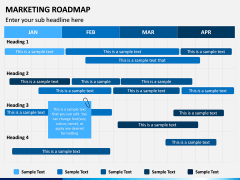 Marketing Roadmap PPT Slide 6