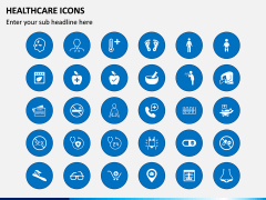 Healthcare Icons PPT Slide 8