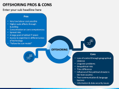 Offshoring Pros and Cons PPT Slide 1