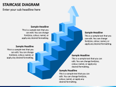 Staircase Diagram PPT Slide 10
