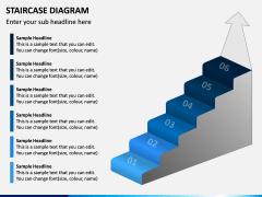 Staircase Diagram PPT Slide 9