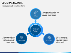 Cultural Factors PPT Slide 1