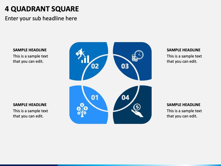 4 Quadrant Square Slide 1