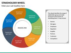 Stakeholder Wheel PPT Slide 12