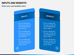 Inputs and Benefits PPT Slide 1