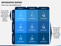 Infographic Matrix PPT Slide 5