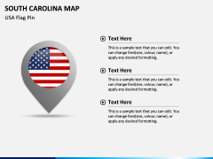 South Carolina Map PPT Slide 6
