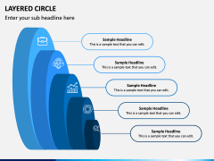 Layered Circle PPT Slide 5