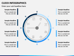 Clock Infographics PPT Slide 9