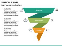Vertical Funnel PPT Slide 25