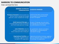 Communication Barriers PPT Slide 9