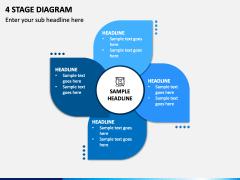 4 Stage Diagram - Free PPT Slide 1