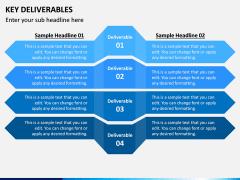 Key Deliverables PPT Slide 3
