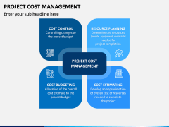 Project Cost Management PPT Slide 1