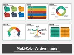 Credit Score Multicolor Combined