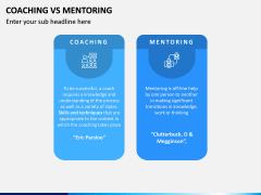 Coaching Vs Mentoring PPT Slide 4