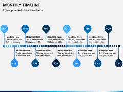 Monthly Timeline PPT Slide 7
