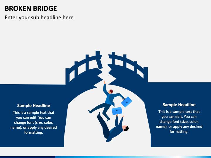 Broken Bridge PPT Slide 1