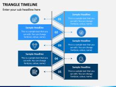 Triangle Timeline PPT Slide 4
