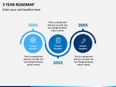 3 Year Roadmap PPT Slide 9