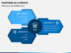 Platform as a Service (PaaS) PPT Slide 1